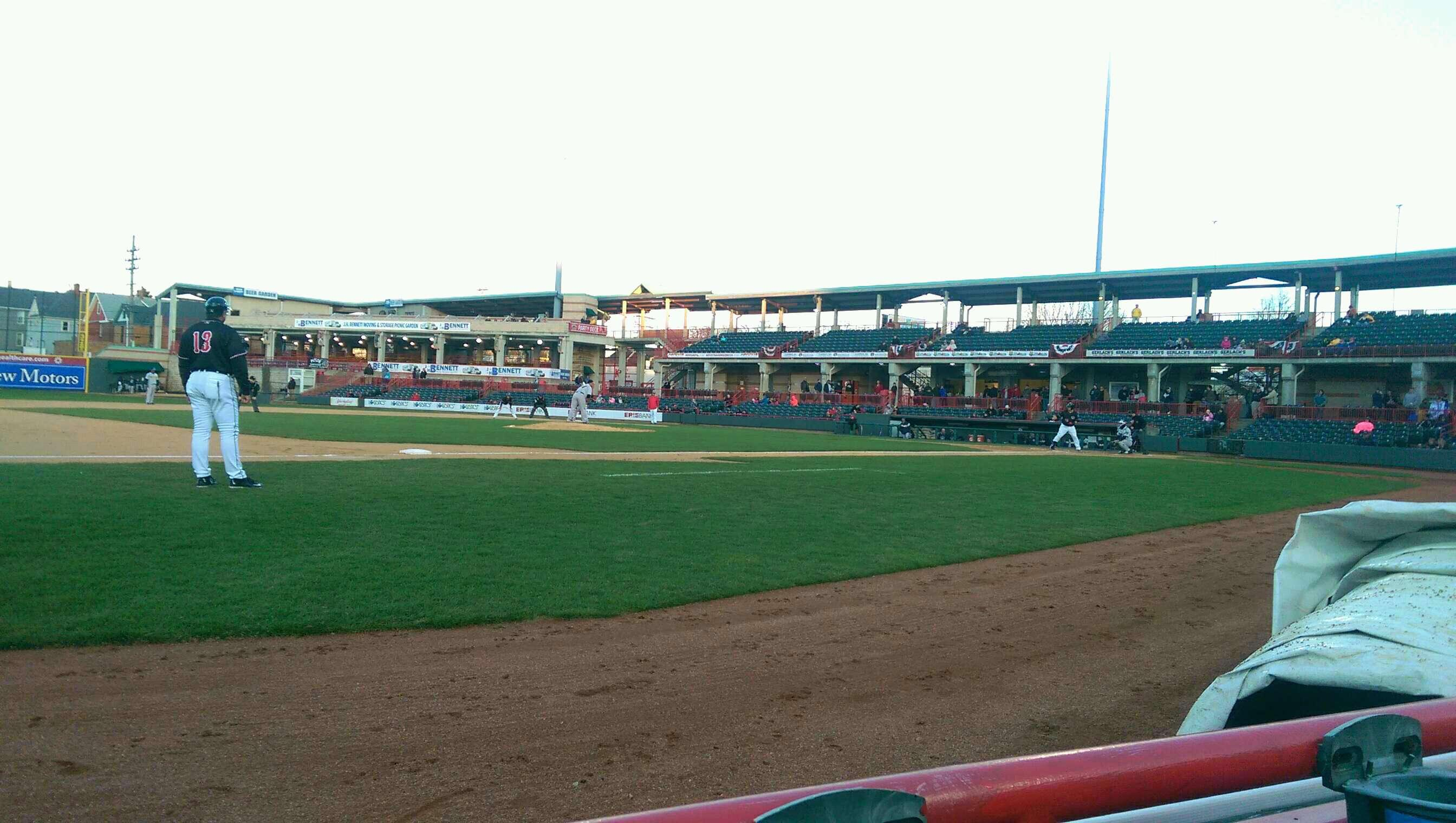 UPMC Park Section 114 Row A Seat 3