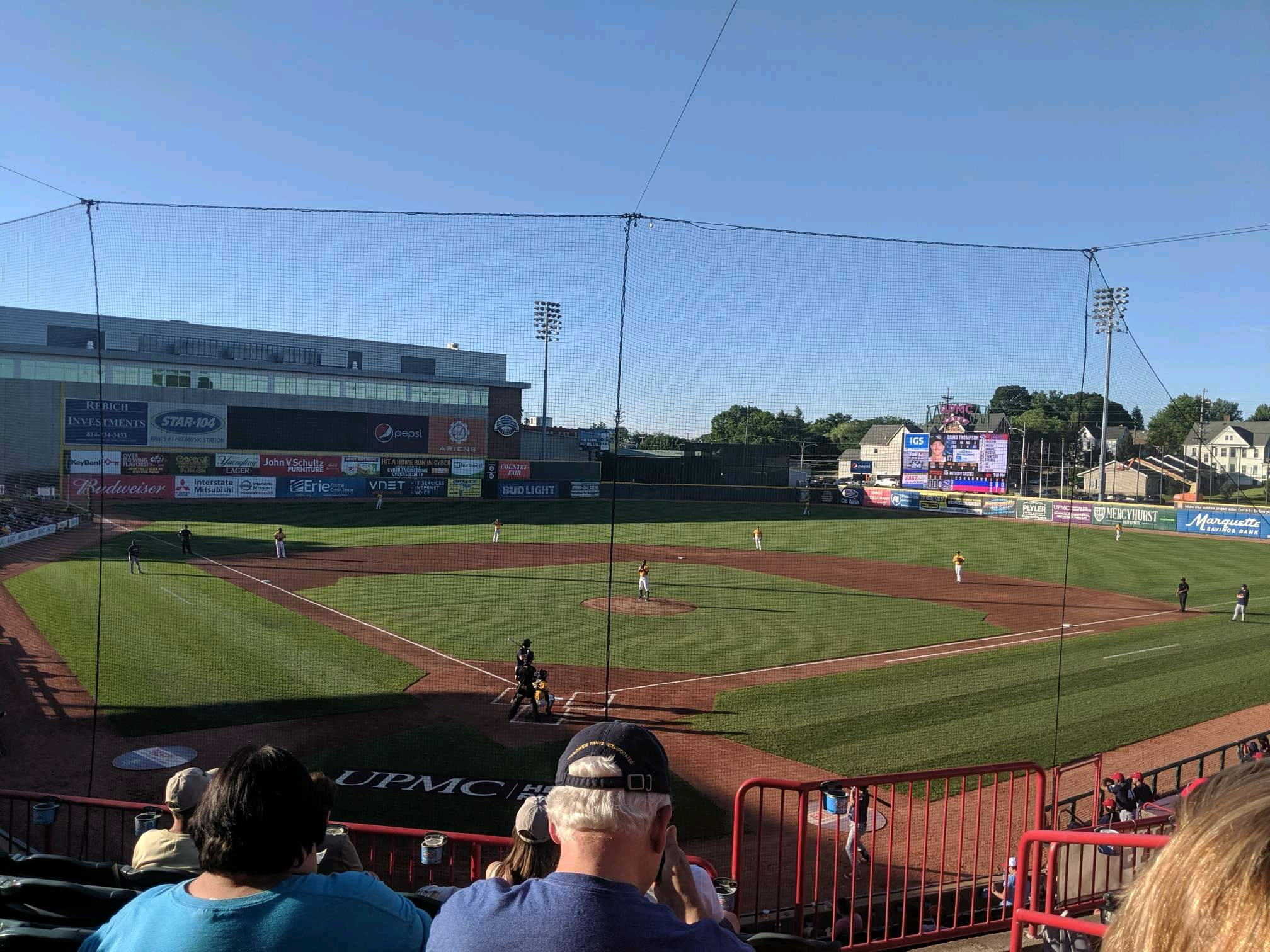 UPMC Park Section 206 Row FF Seat 3