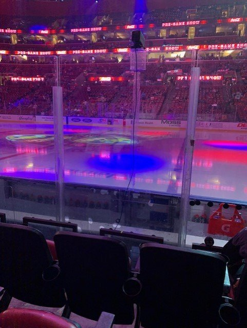BB&T Center Section 134 Row 5 Seat 8