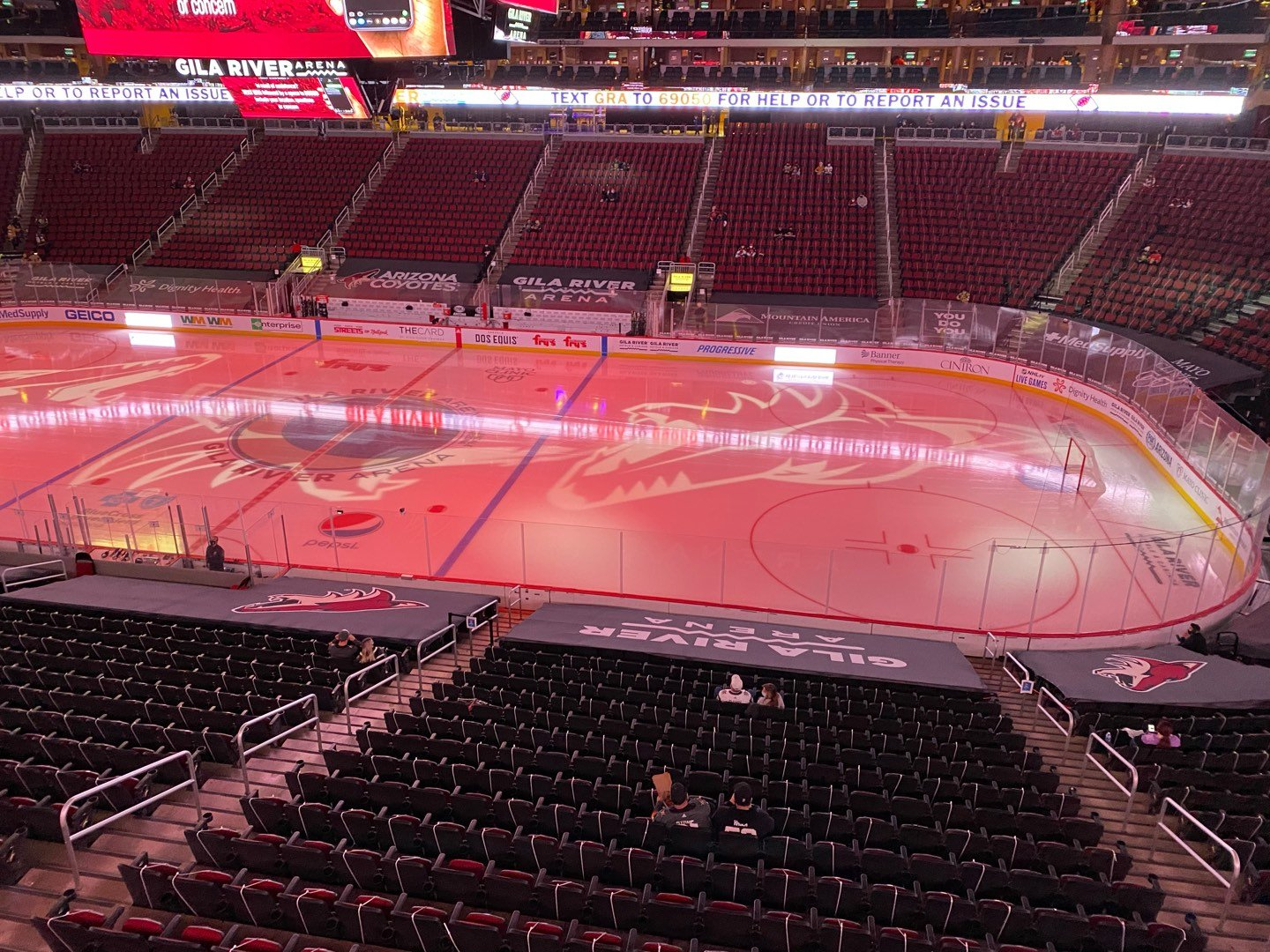 Gila River Arena Section 1104