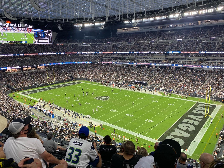 Allegiant Stadium Section 307 Row 6 Seat 2