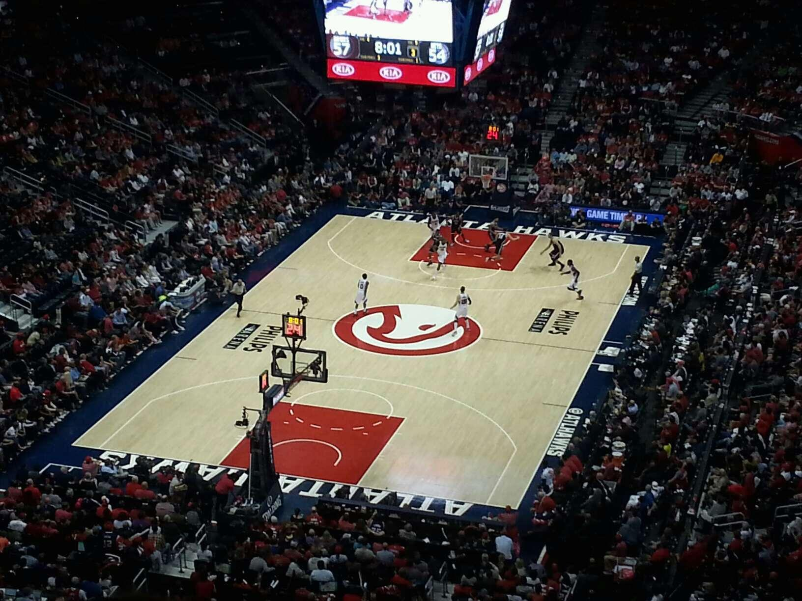 Philips Arena Section 317 Row S Seat 11