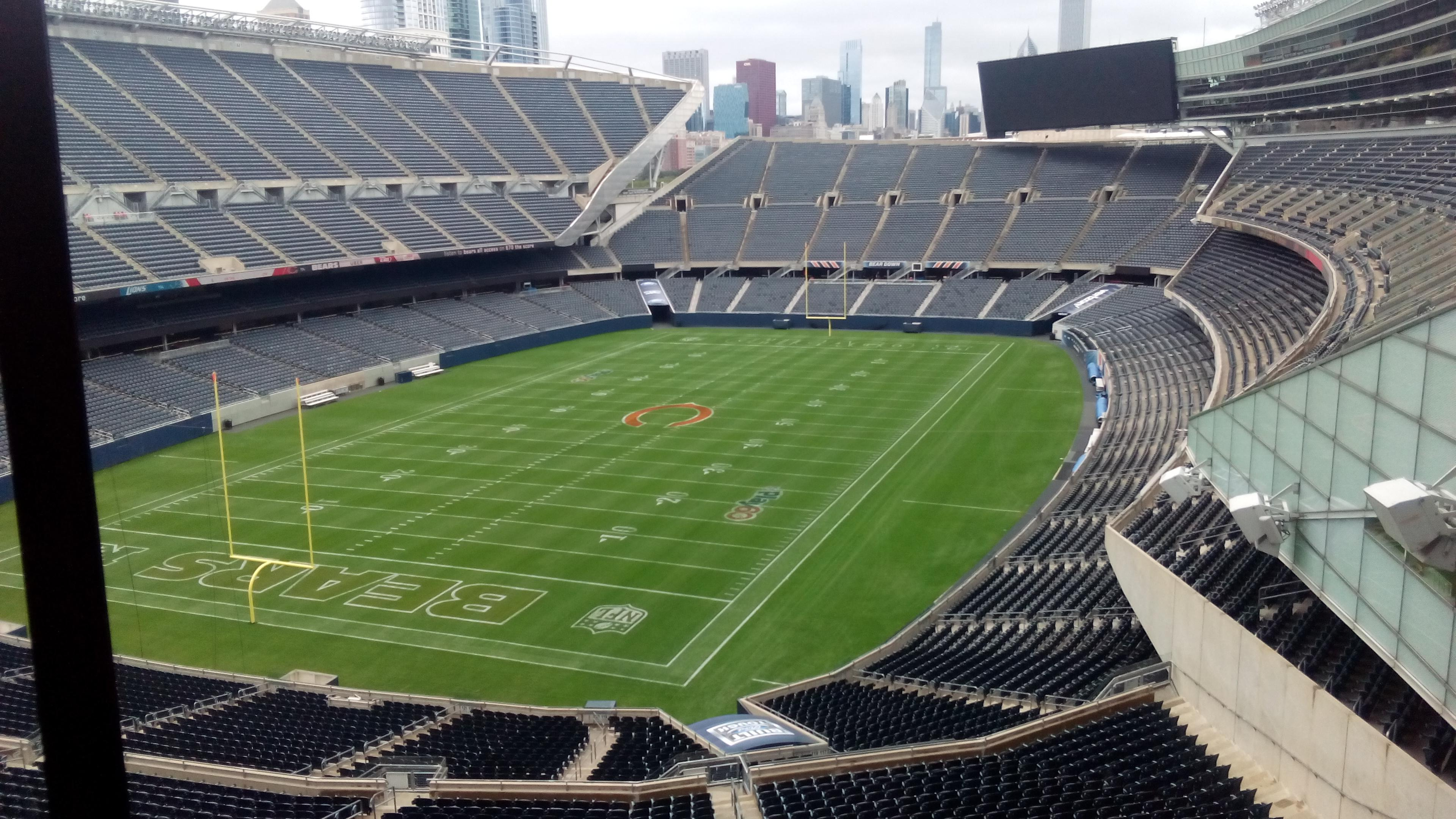 Soldier Field Section Suite Row 1