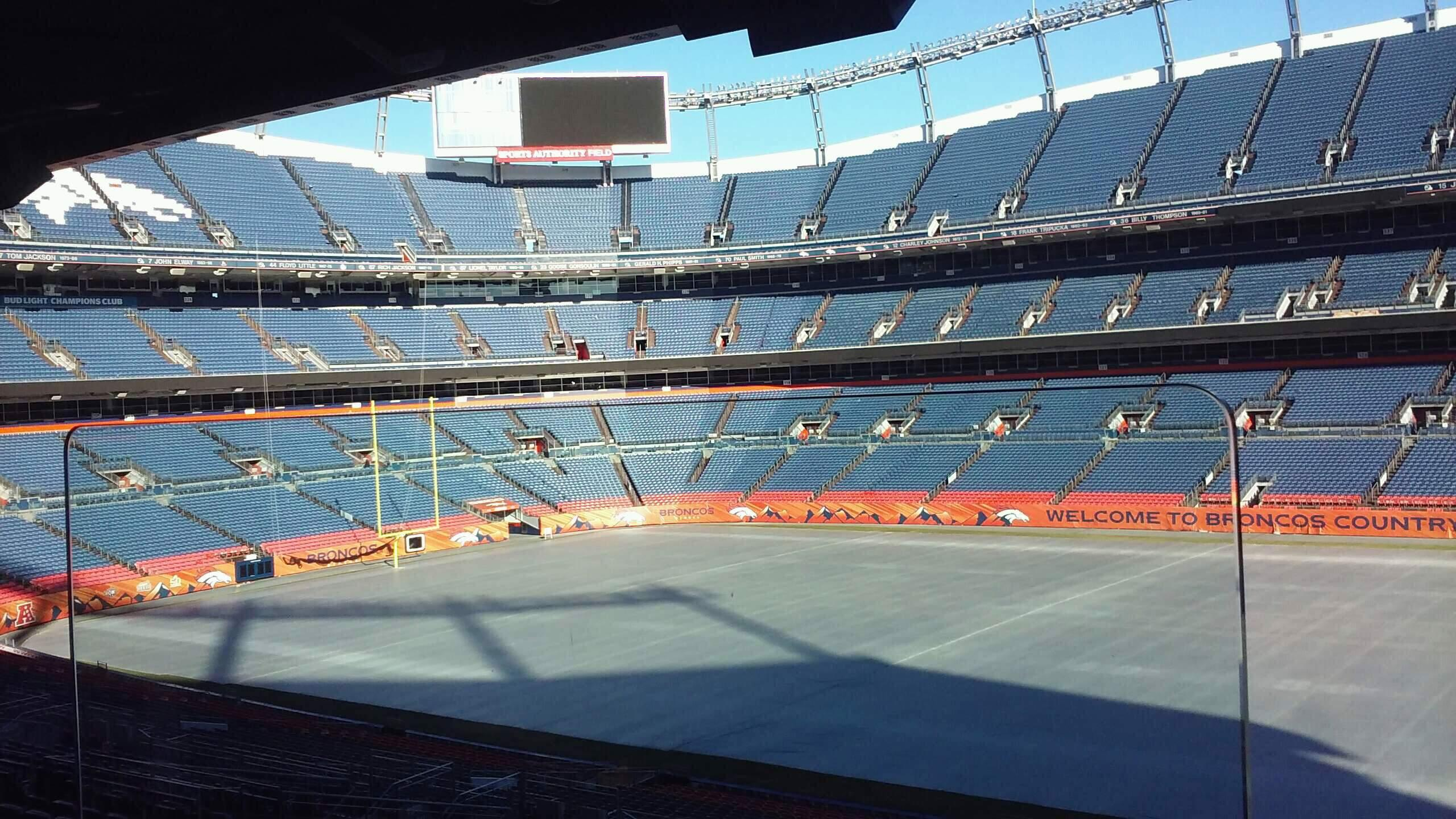 Broncos Stadium at Mile High Section Suite
