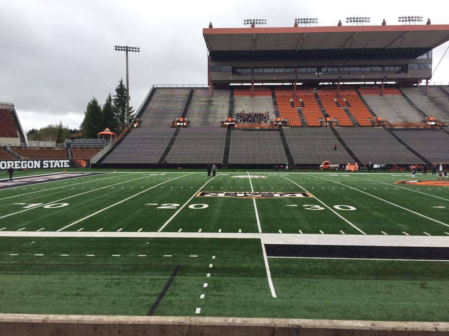 Reser Stadium Section 118 Row 5 Seat 11