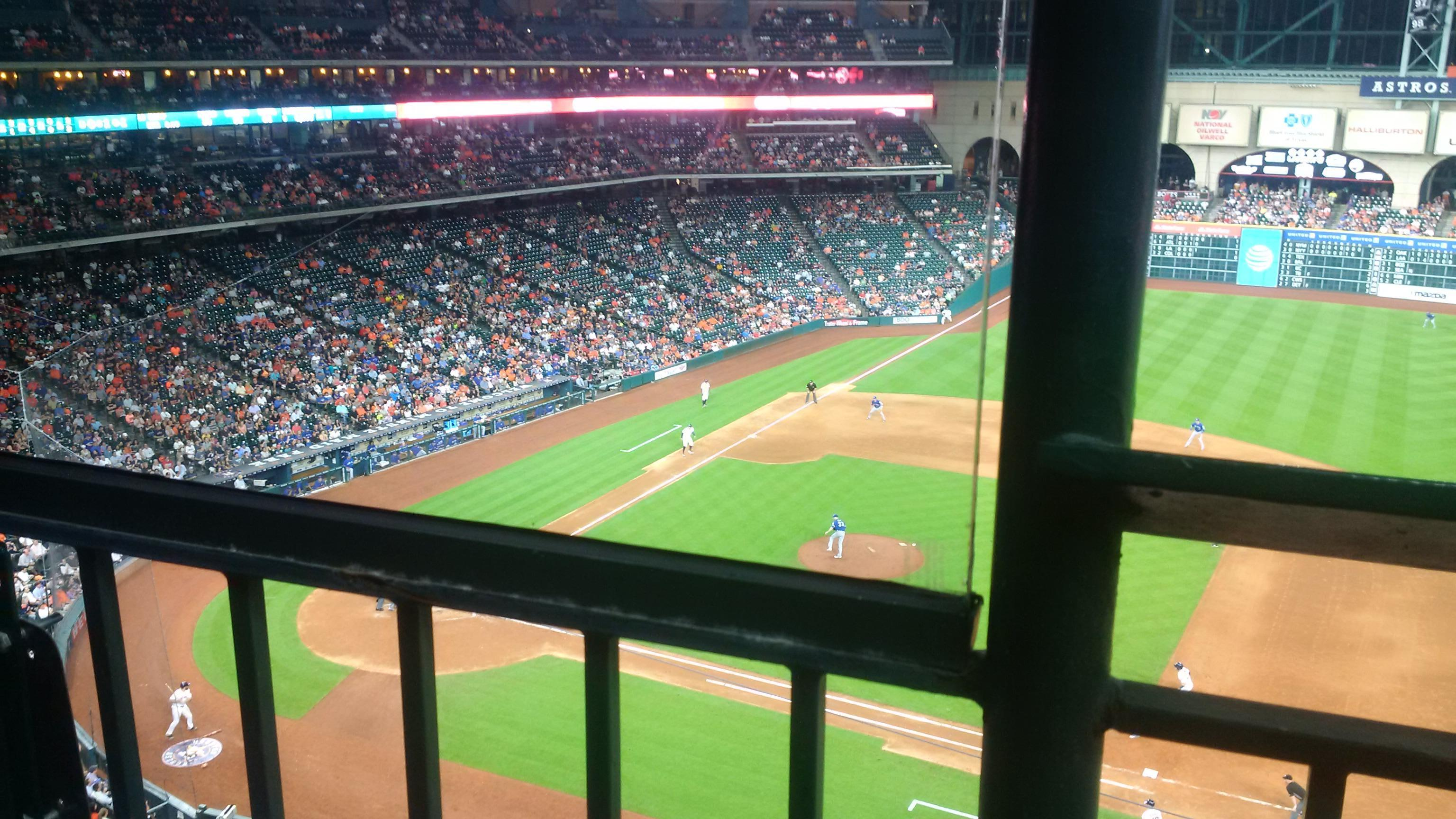 Minute Maid Park Section 327 Row 1 Seat 1