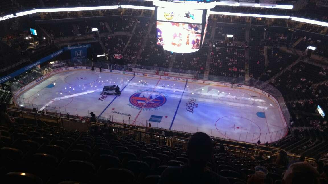 Barclays Center Section 223 Row 17 Seat 11