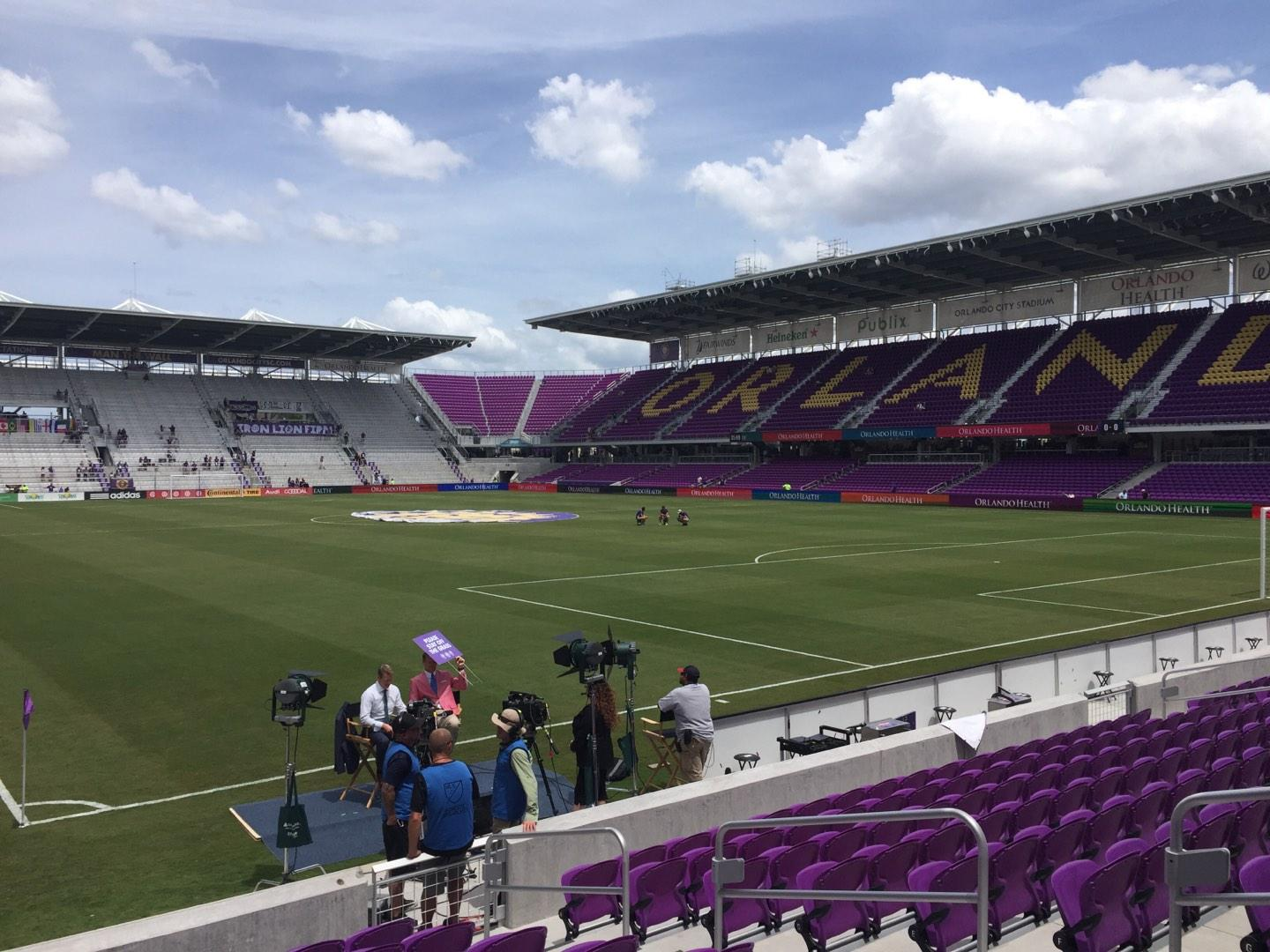 Exploria Stadium Section 7 Row K Seat 8