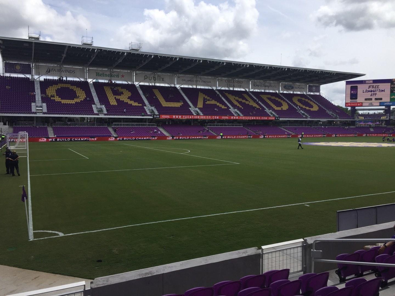 Exploria Stadium Section 20 Row G Seat 10