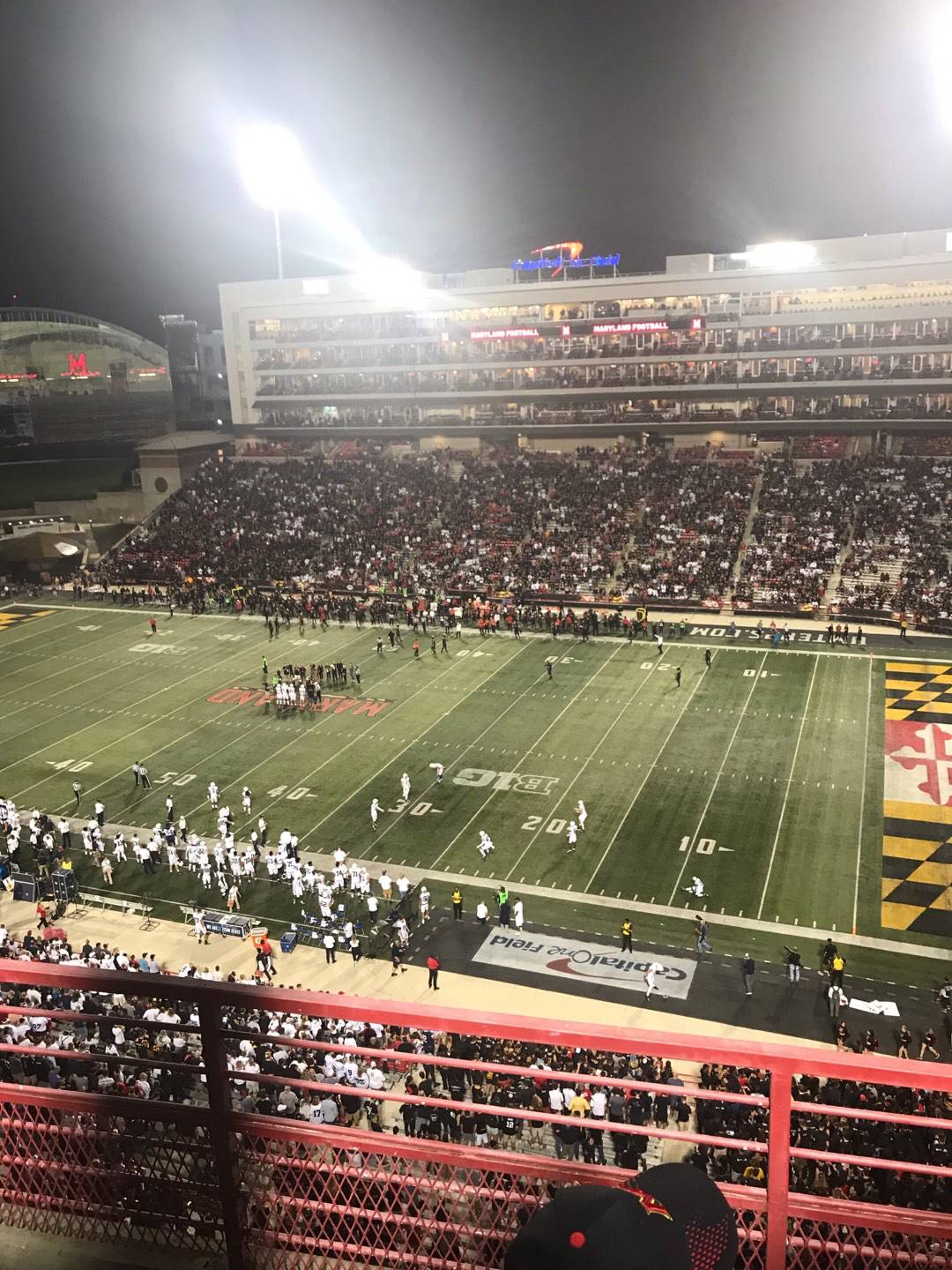 Maryland Stadium Section 310 Row C Seat 10