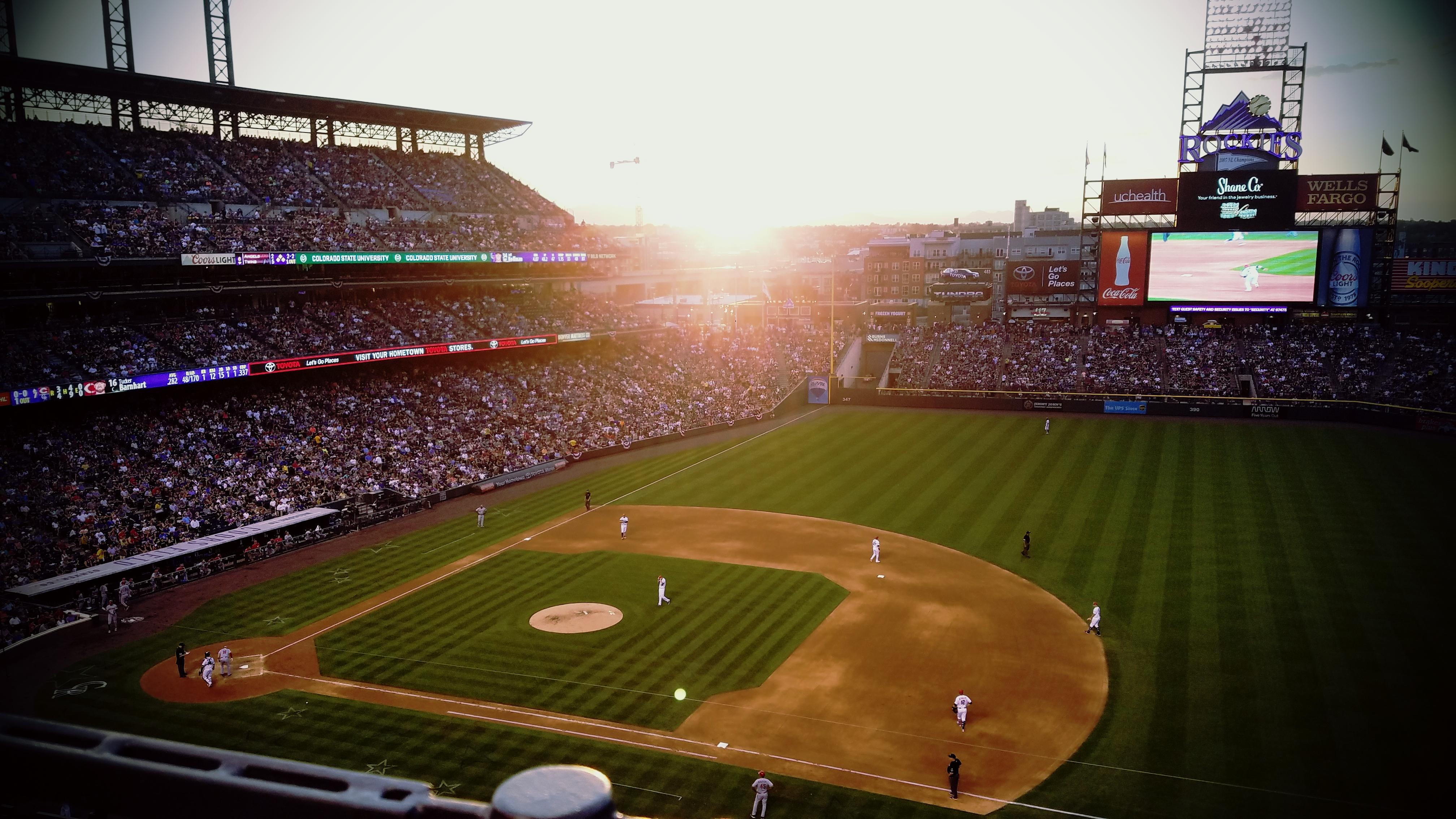 Coors Field Section L319 Row 1 Seat 21