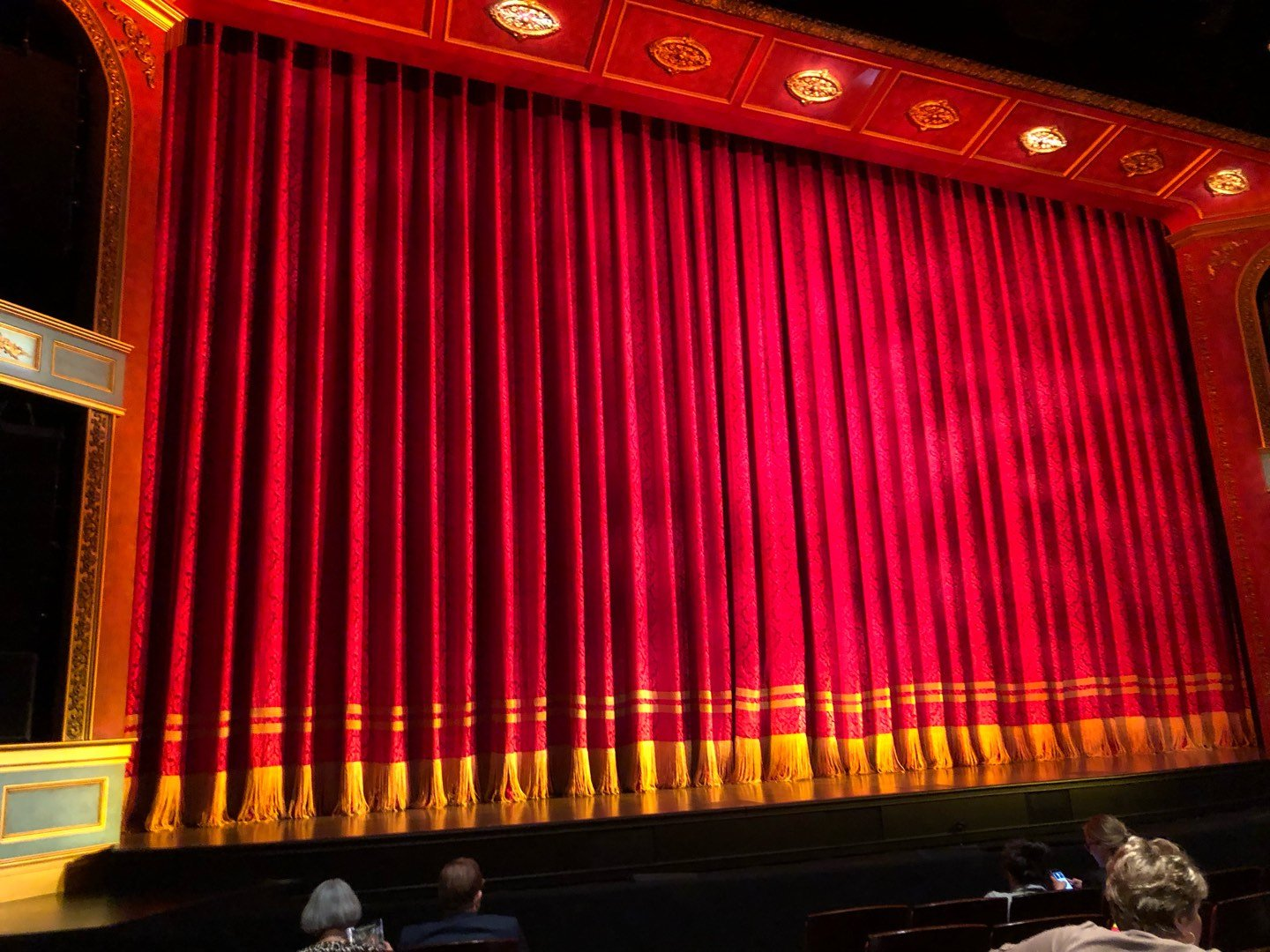 Marquis Theatre Section Orchestra R Row G Seat 11