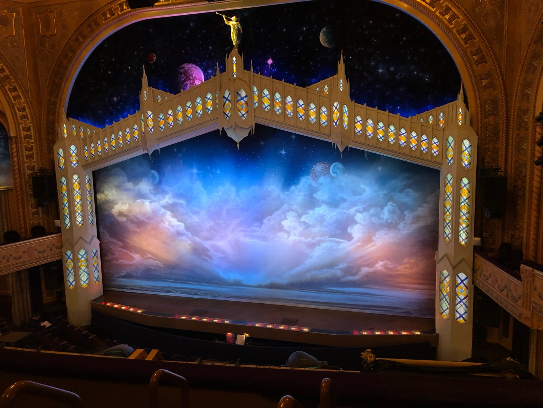 Eugene O'Neill Theatre Section Mezzanine R Row D Seat 2