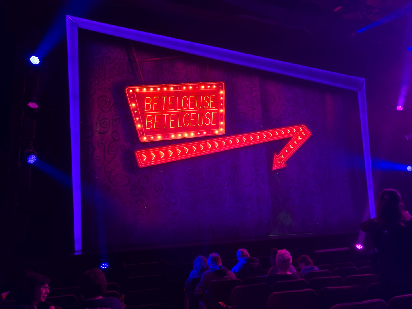 Winter Garden Theatre Section Orchestra L Row H Seat 1