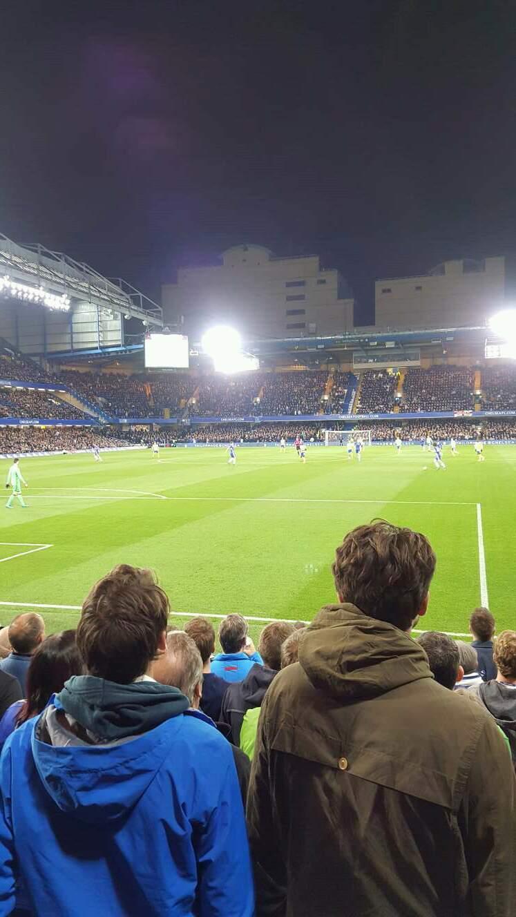 Stamford Bridge Section 11 Row K Seat 036