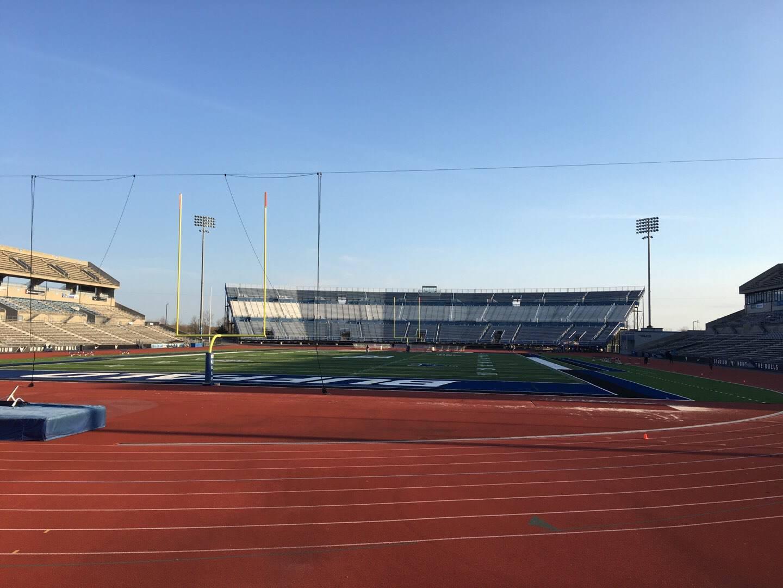 UB Stadium Section 116 Row A Seat 1