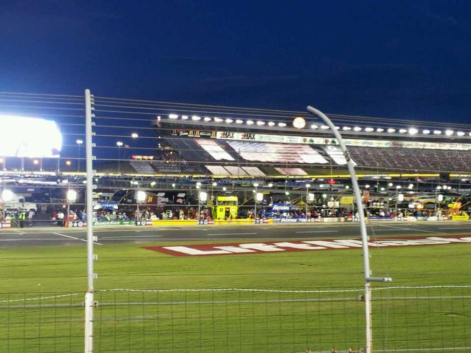 Charlotte Motor Speedway Section chrysler Row 9 Seat 14