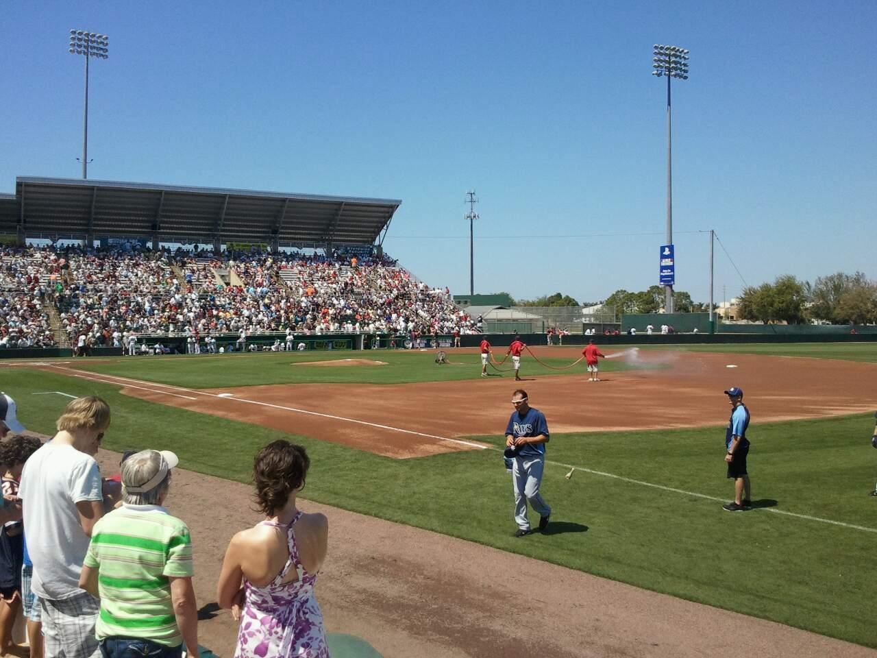 Hammond Stadium Section Lawn