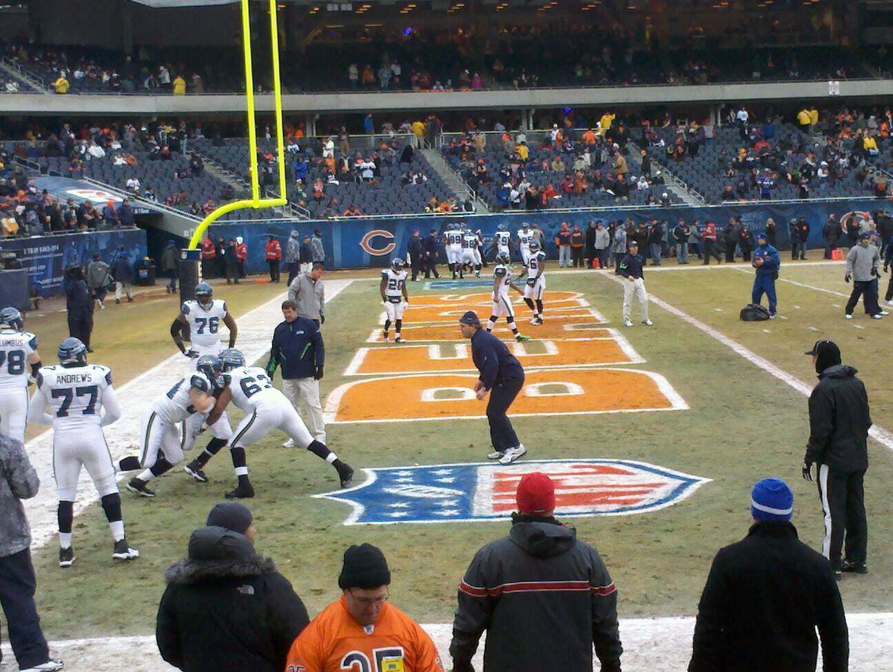 Soldier Field Section 119 Row 18 Seat 3