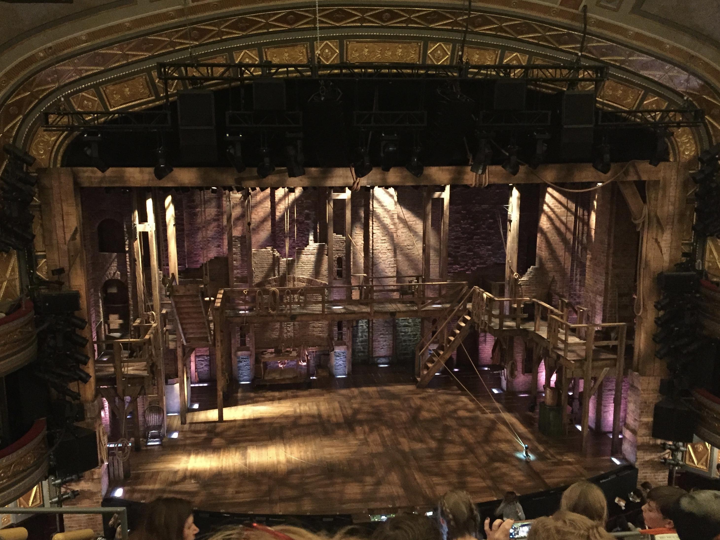 Richard Rodgers Theatre Section Front Mezzanine C Row E Seat 113