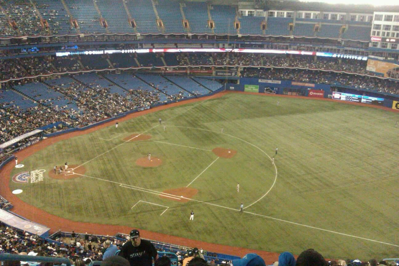 Rogers Centre Section 516R Row 20 Seat 2