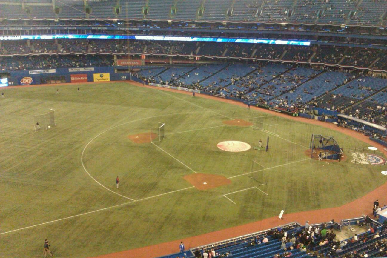 Rogers Centre Section 533R Row 3 Seat 6