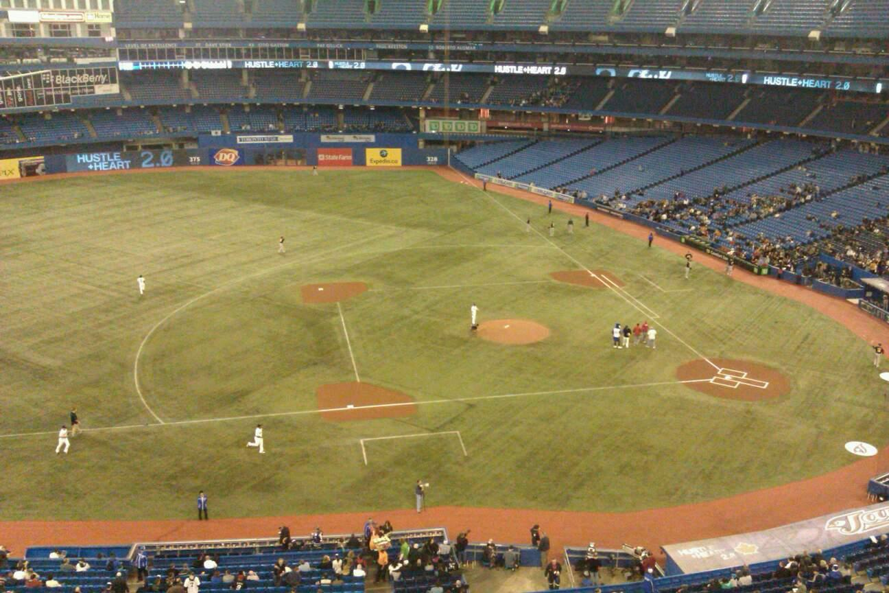 Rogers Centre Section 530L Row 1 Seat 105