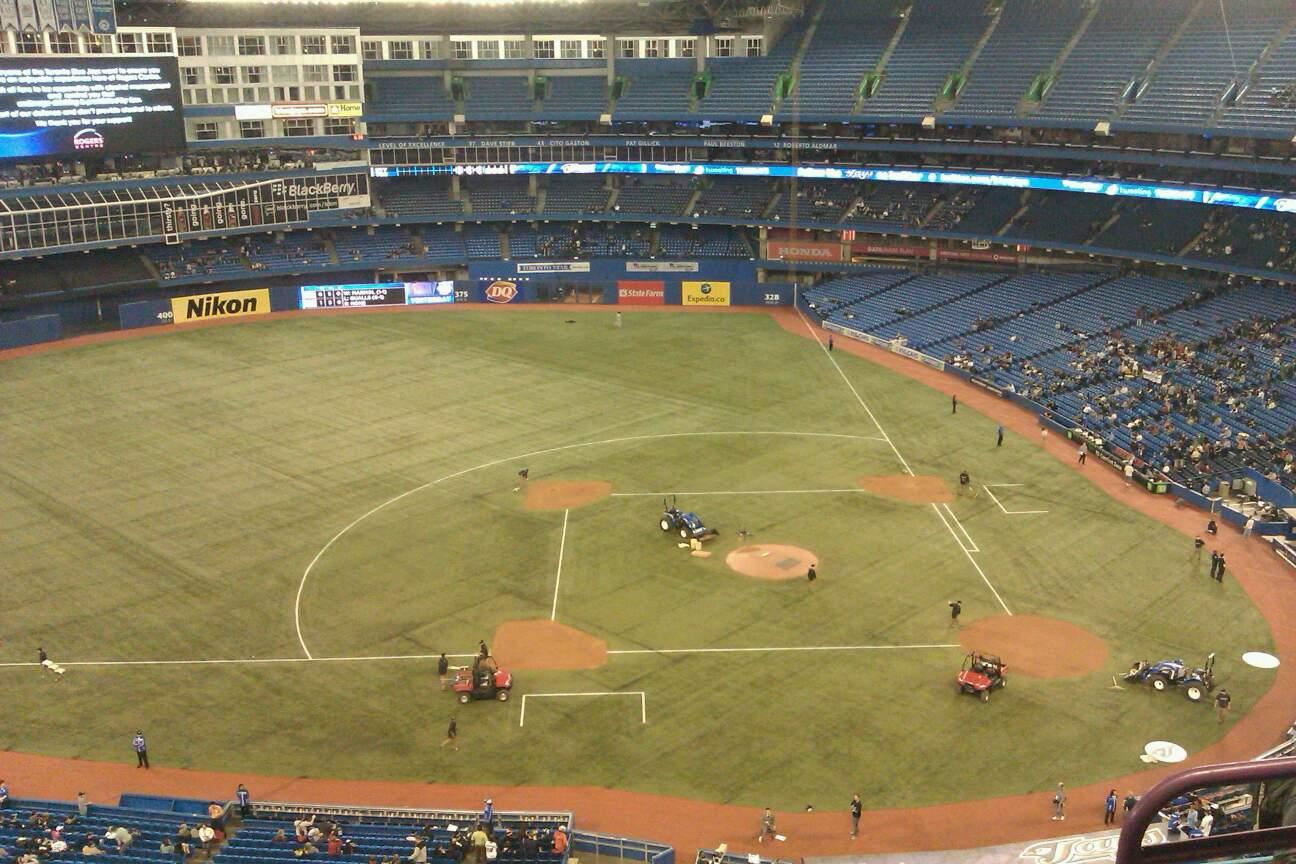 Rogers Centre Section 529L Row 12 Seat 103