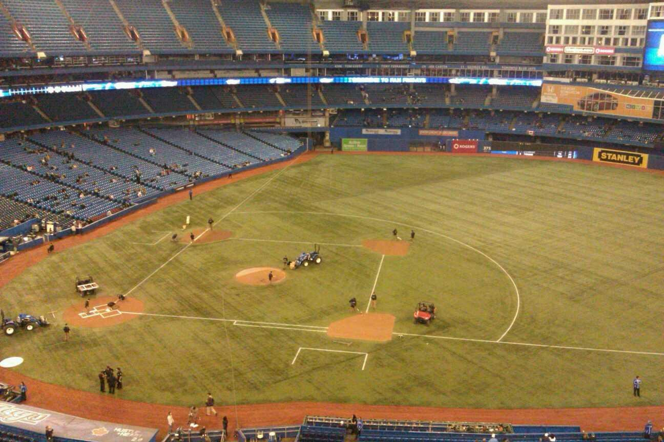 Rogers Centre Section 518R Row 6 Seat 4