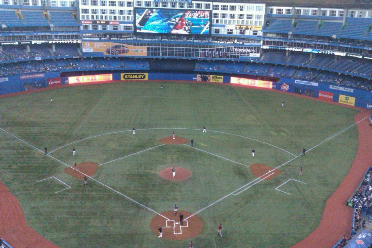 Rogers Centre Section 524R Row 11 Seat 7