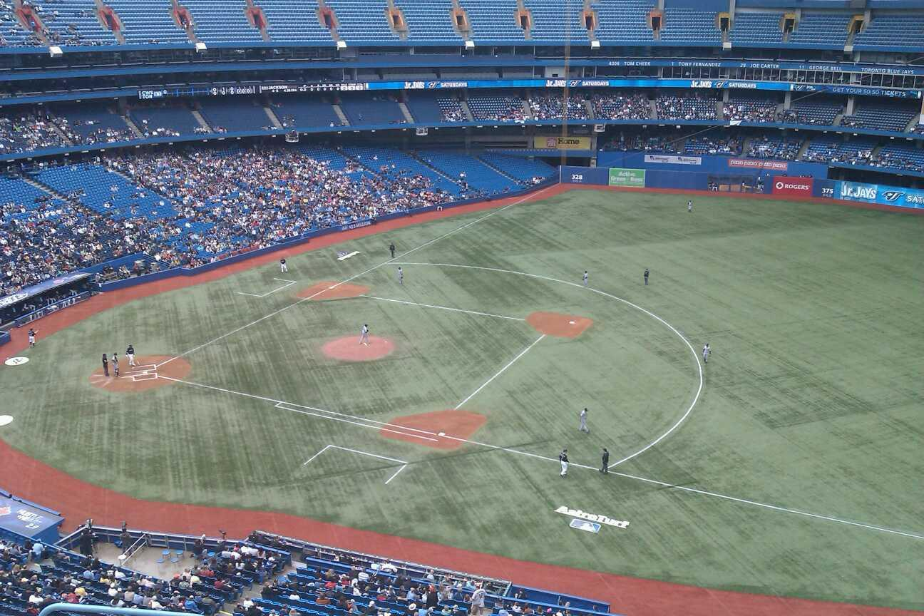Rogers Centre Section 516R Row 7 Seat 2