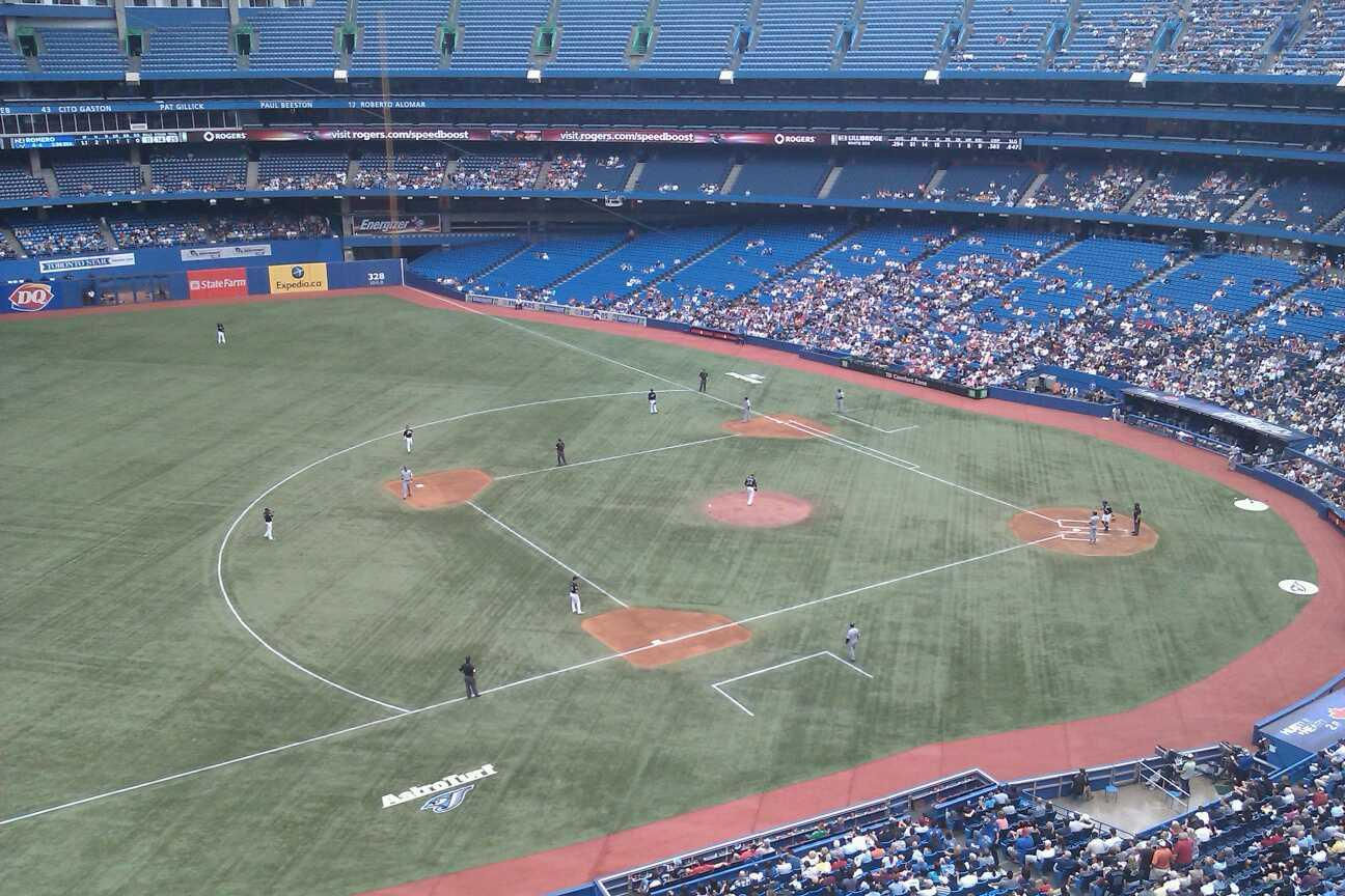 Rogers Centre Section 533R Row 2 Seat 9