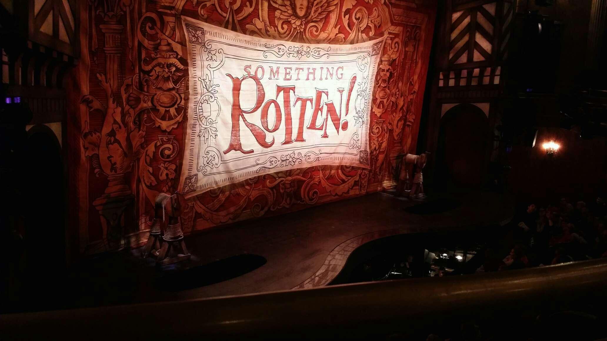 St. James Theatre Section mezzanine Row A Seat 17