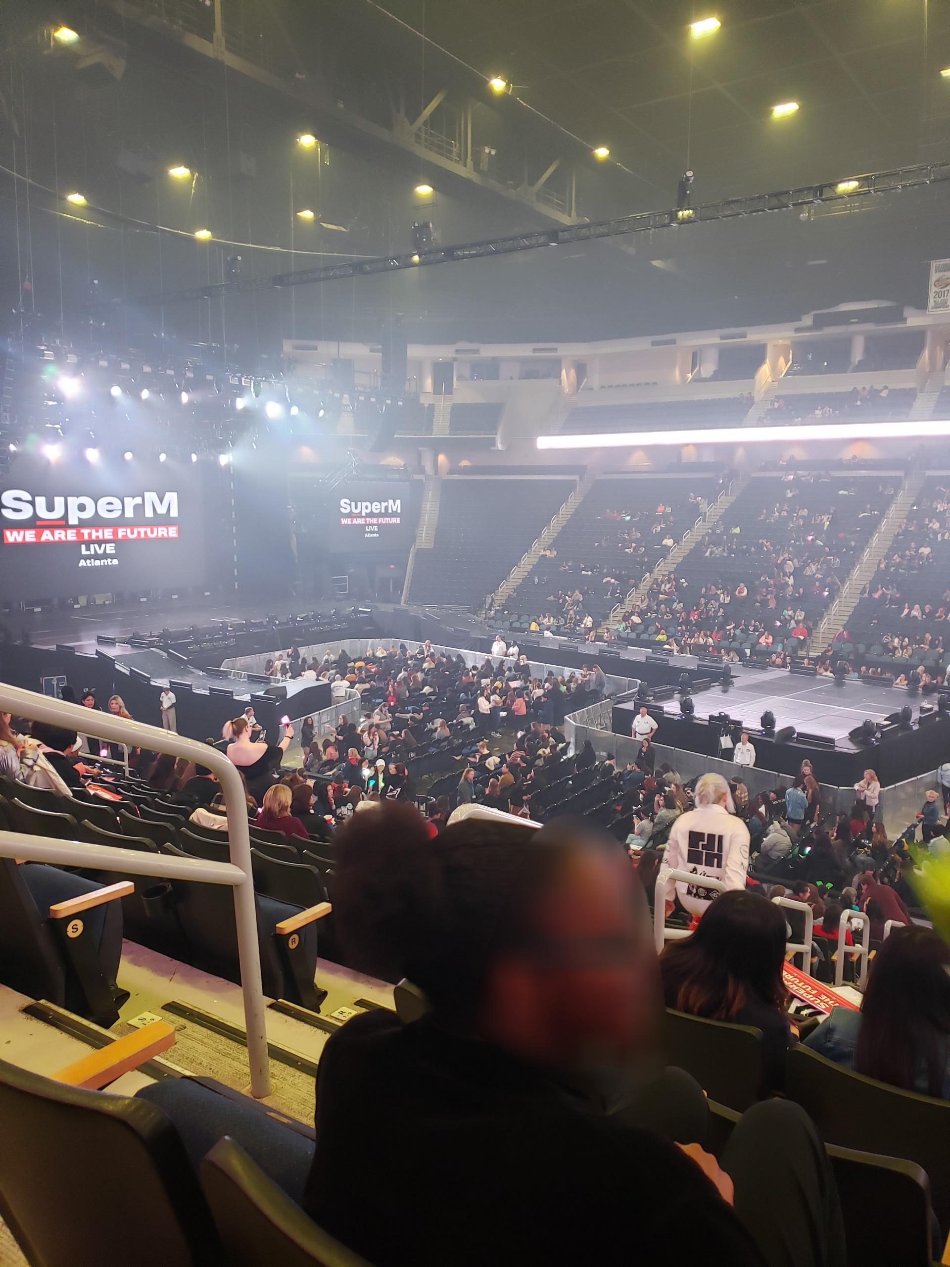 Infinite Energy Arena Section 119 Row U Seat 16