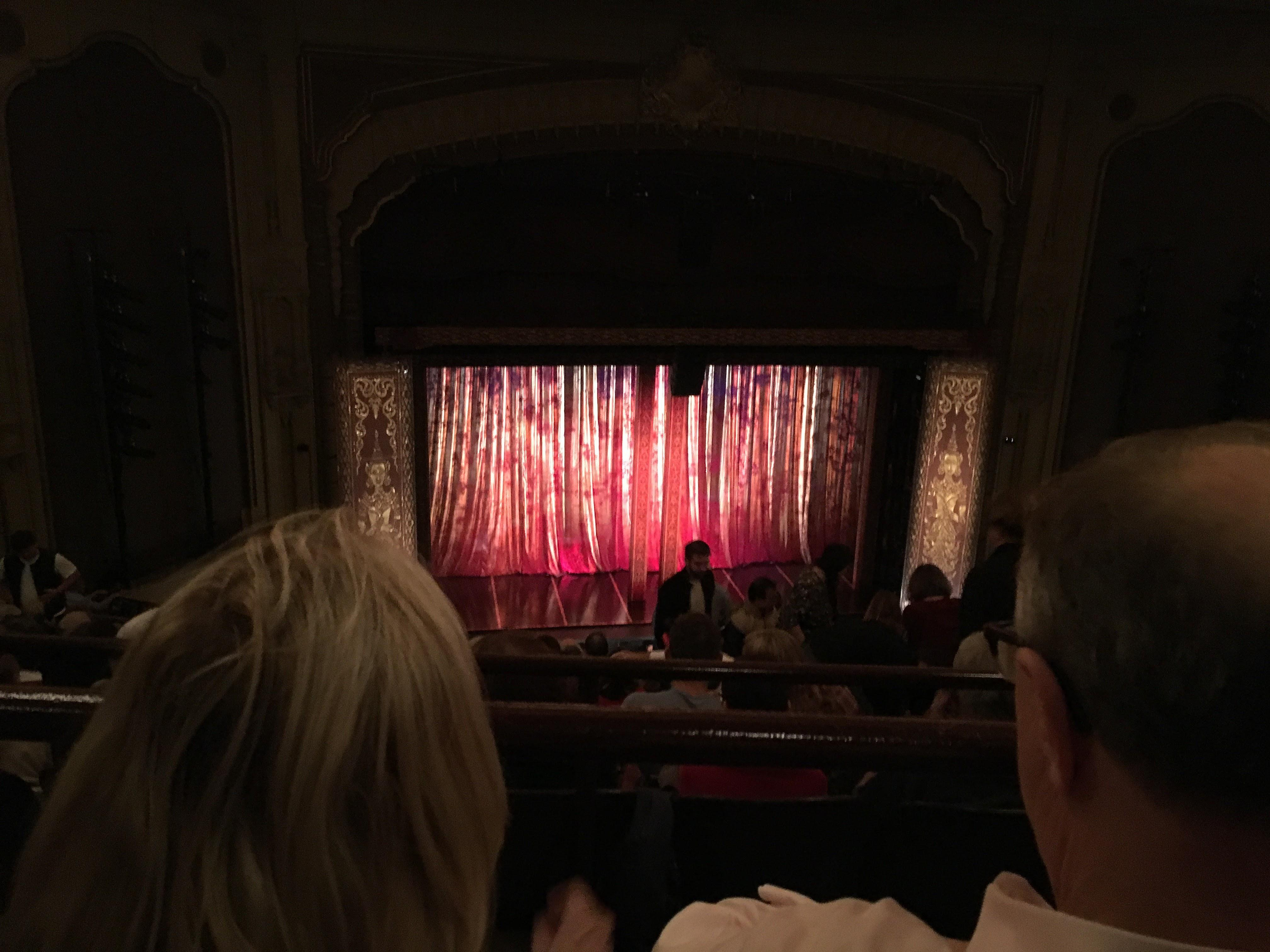 Golden Gate Theatre Section Balcony LC Row B Seat 123