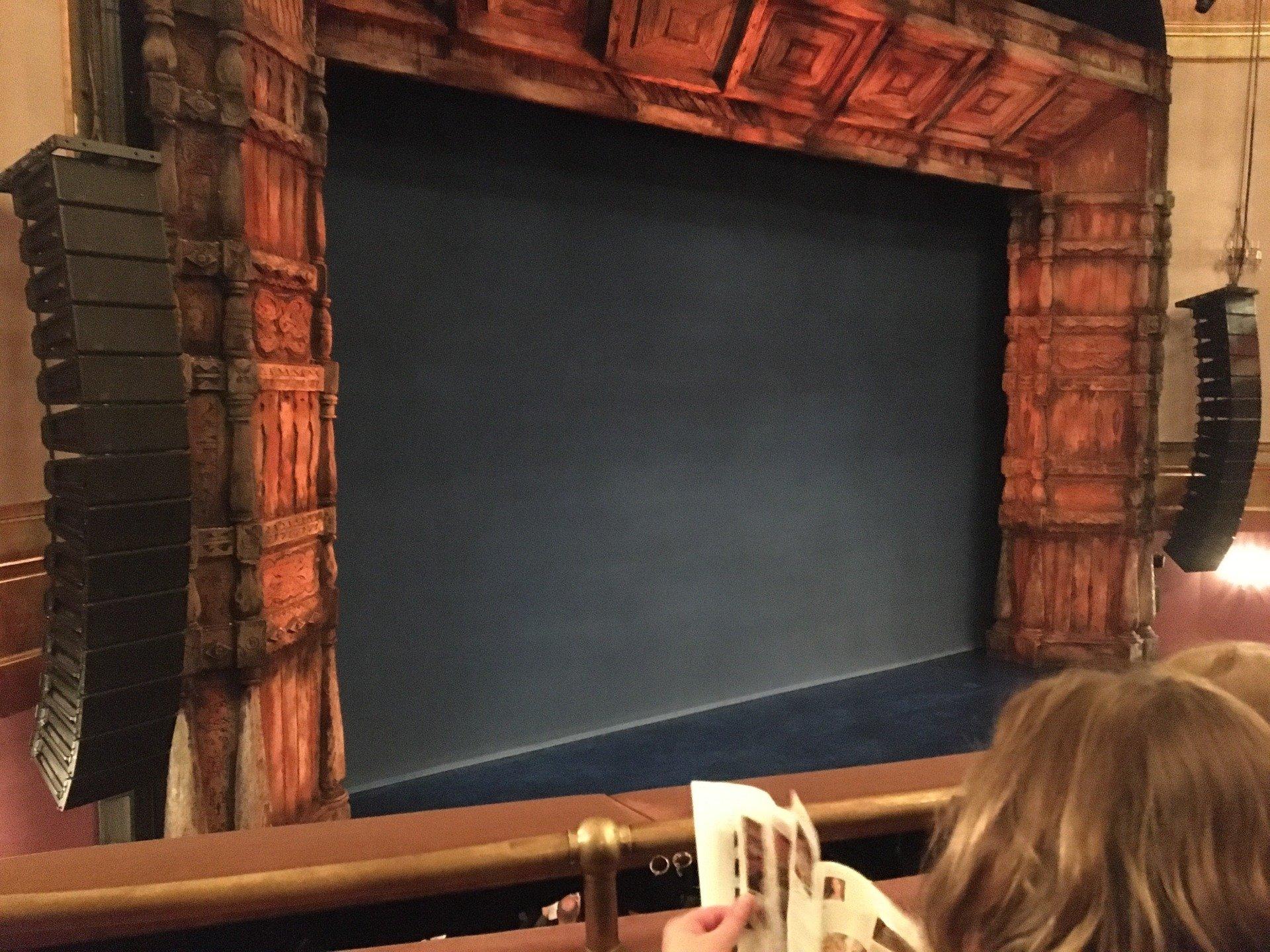 St. James Theatre Section Mezzanine L Row B Seat 17