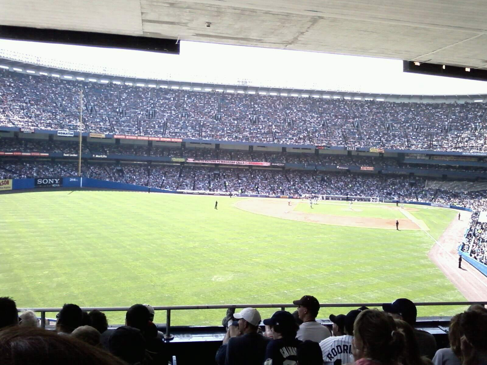 Old Yankee Stadium Section loge
