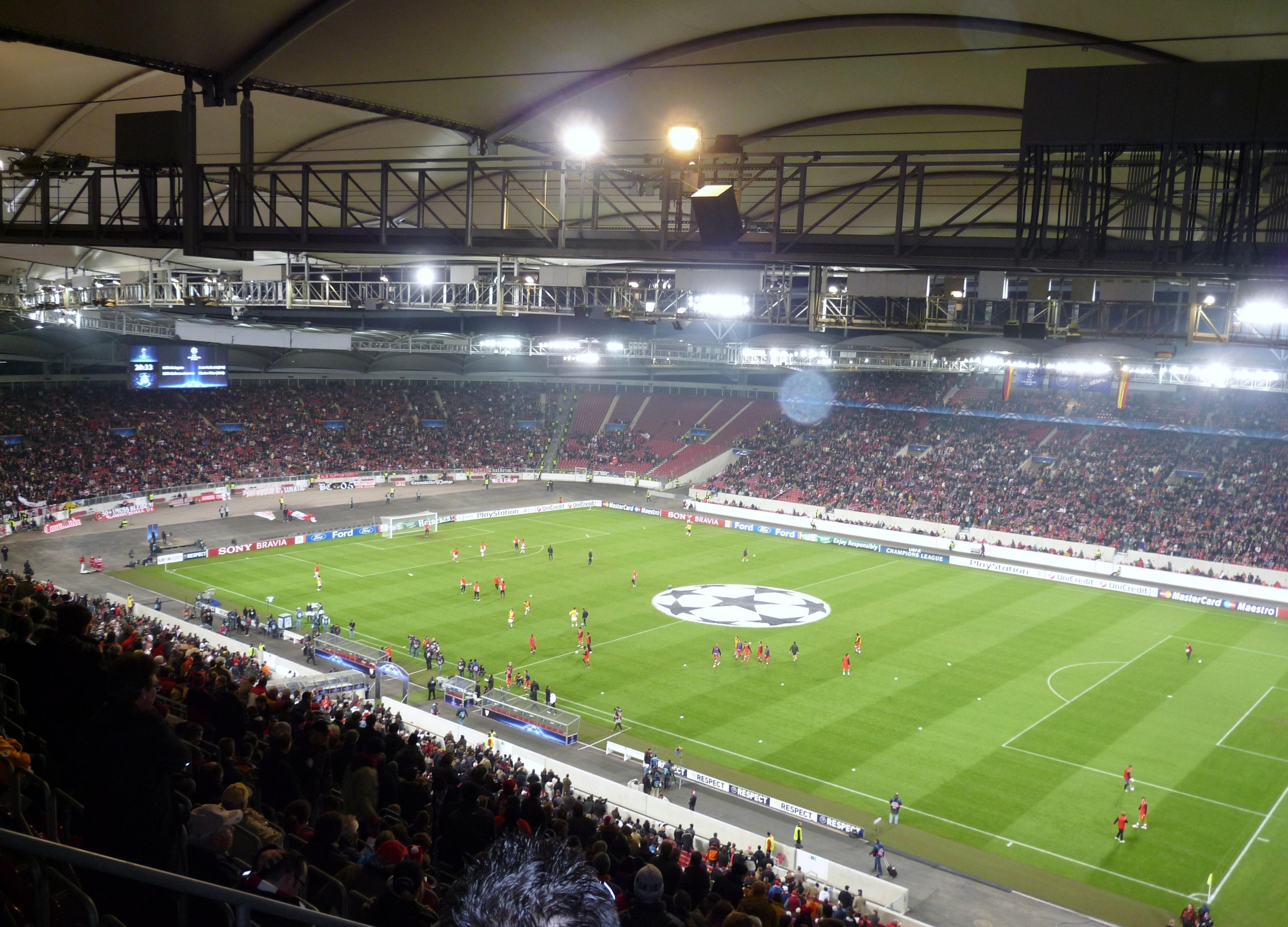 Mercedes benz arena vfb stuttgart vs sevilla shared by for Mercedes benz stadium atlanta hotels