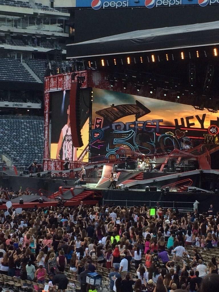MetLife Stadium Section 114 Concert Seating ...