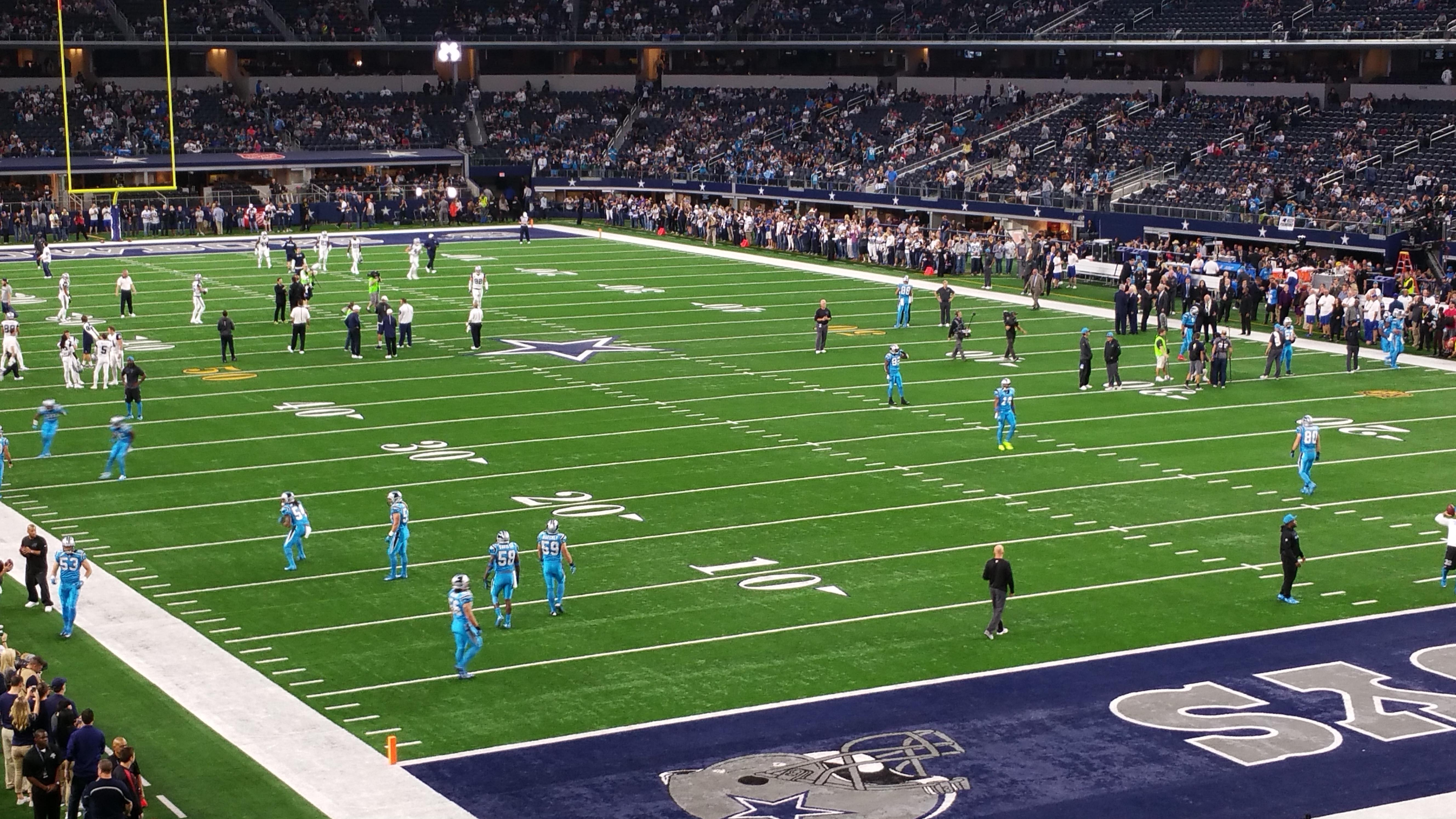 AT&T Stadium Section 201 Row 1 Seat 24