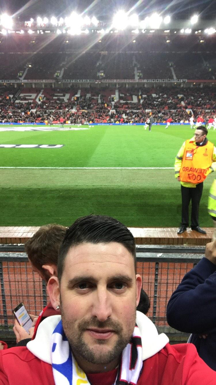 Old Trafford Section Sth Row Cc Seat 178