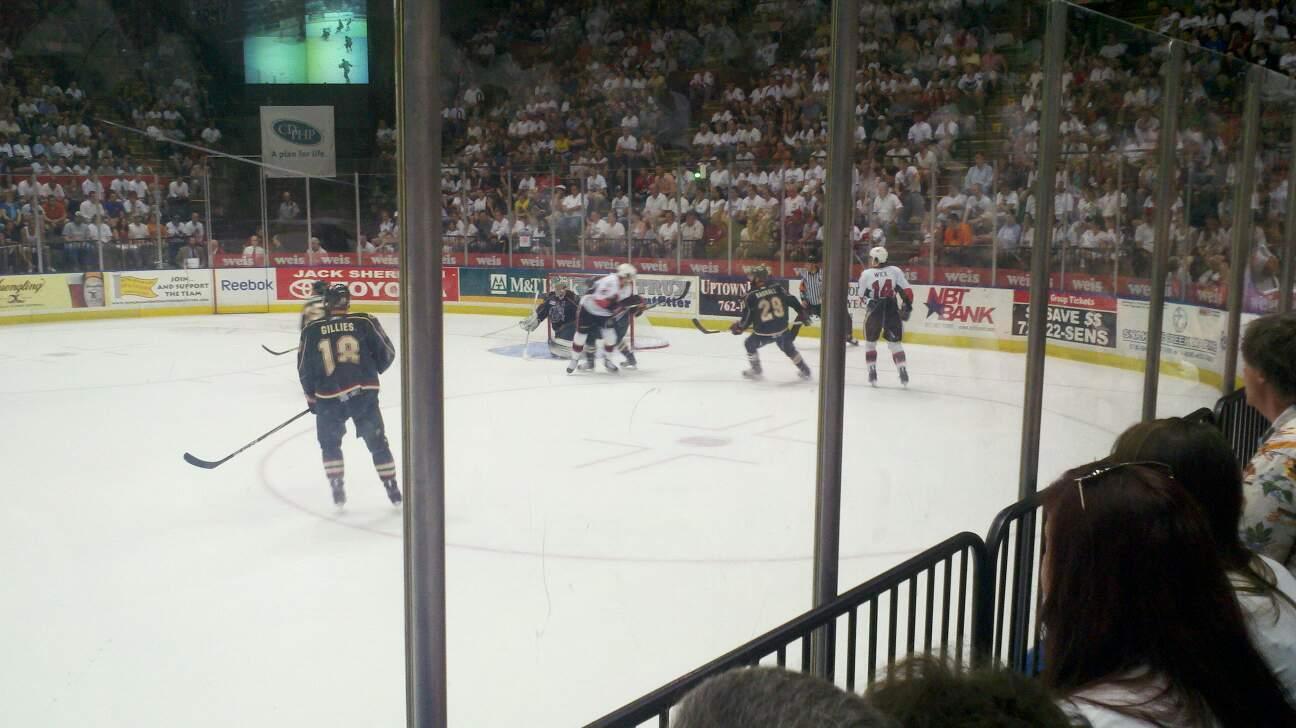 Floyd L. Maines Veterans Memorial Arena Section 28 Row BB Seat 6