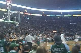 TD Garden Section Floor 14 Row A