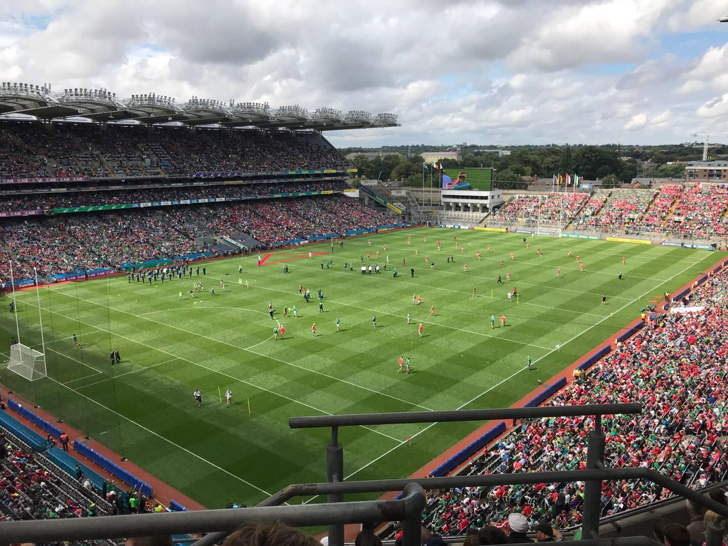 Croke Park Section 713 Row J Seat 16