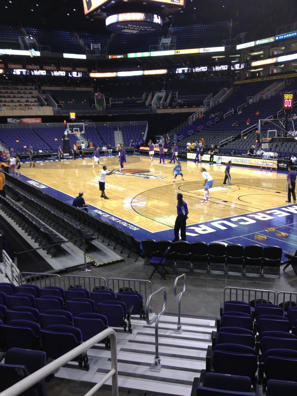 Talking Stick Resort Arena Section 110 Phoenix Suns