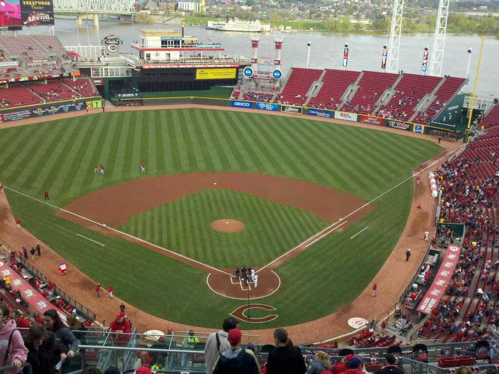 Great American Ball Park Section 523 Row N Seat 21