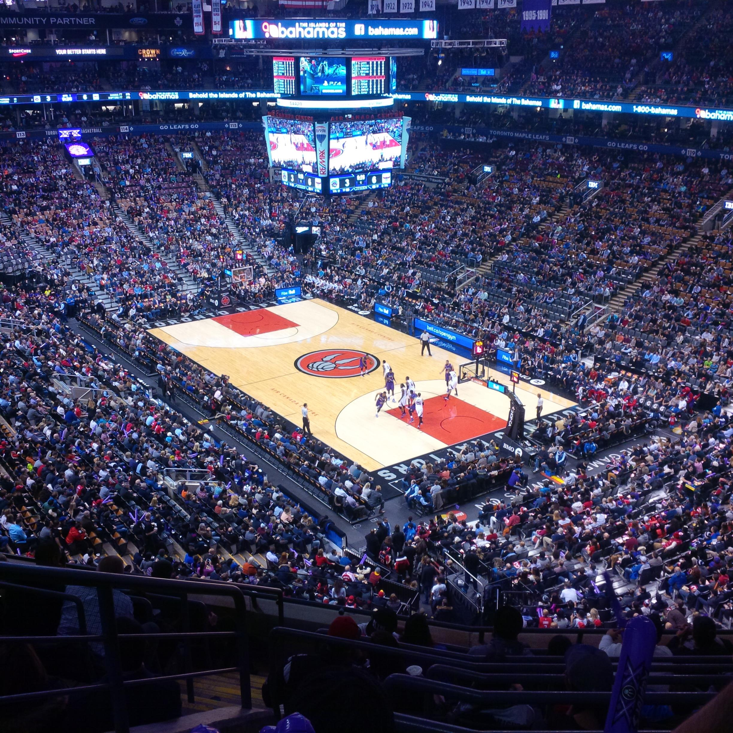 Air Canada Centre Section 305 Toronto Raptors