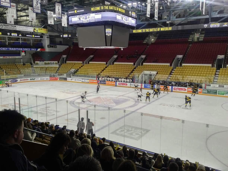 Kitchener Memorial Auditorium Section 8 Row L Seat 8