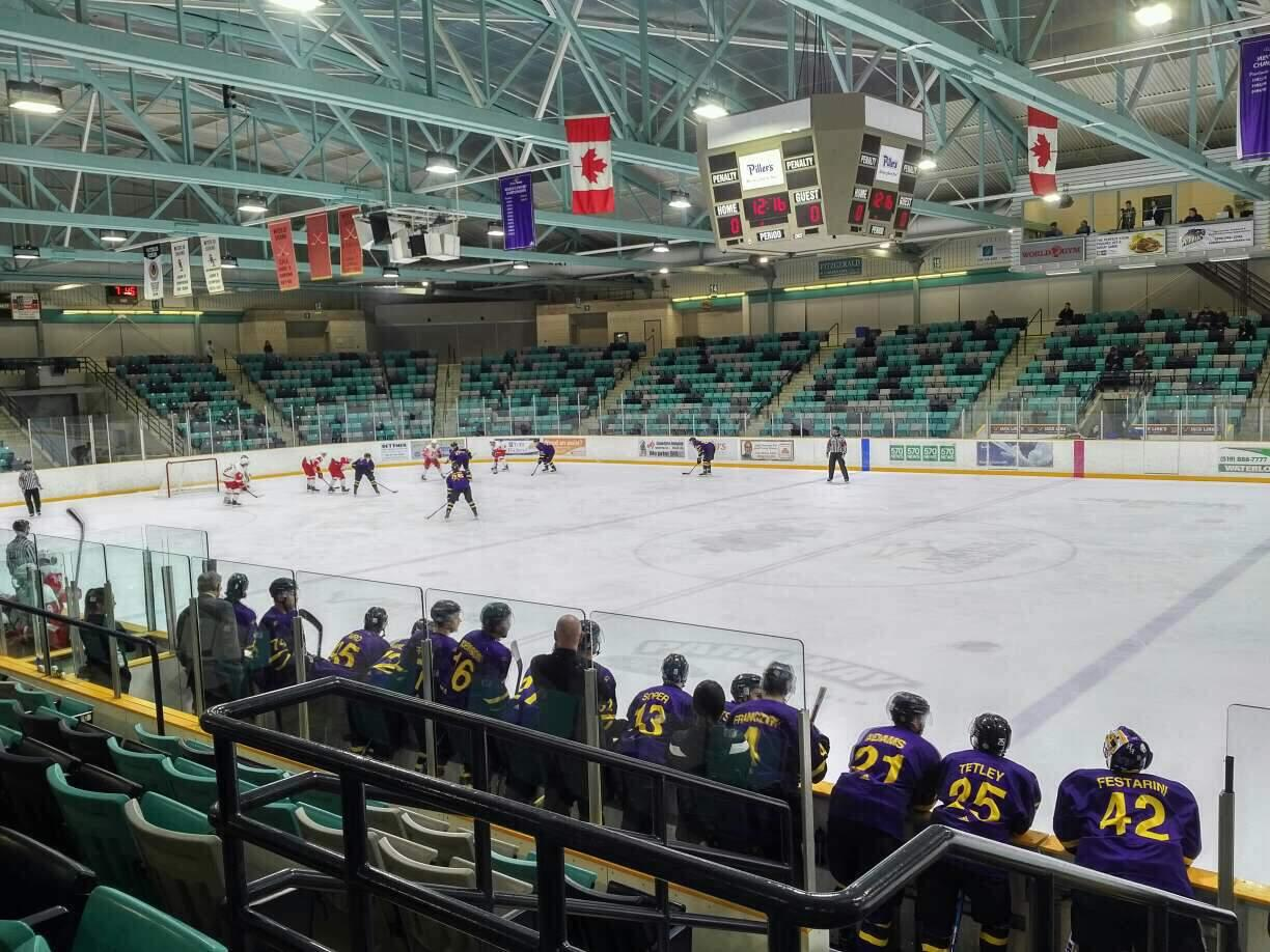Waterloo Memorial Recreation Complex Section 3 Row G Seat 3