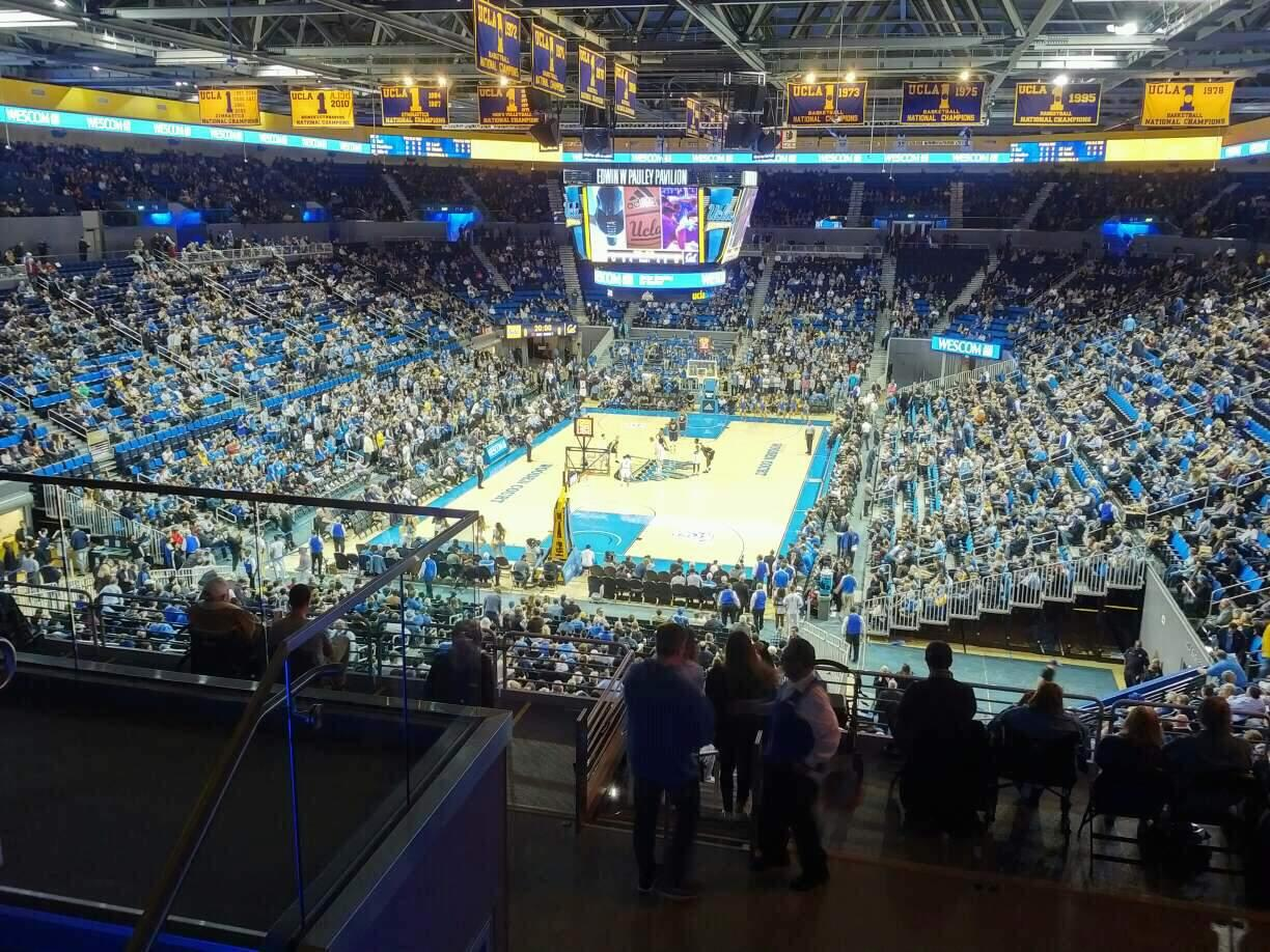 Pauley Pavilion Section 208 Row 5 Seat 7